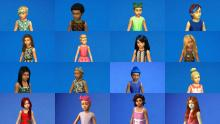 Get your little Sims all grown up before they're even ready to age up with these grown up hairstyles.