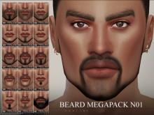 Find the scruffy look or full beard you've been looking for with this facial hair pack.
