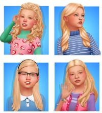 Fabulous new hair for your little girls to choose from and define themselves with.