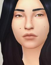 Tons of small details and beauty marks to add to your Sims' faces.
