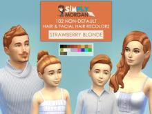 Now your Sims can be strawberry blonde and sun-kissed, just like you!