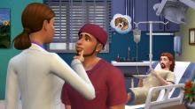 With the proper training and experience in medical school, your doctor sims will know better than to flirt with their co-workers or patients. Yuck!