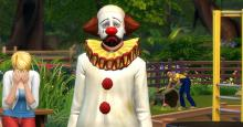 The infamous tragic clown is known to be the clown with the unfortunate and depressing backstory that's written all over his face. If you're heart hurts to see this, a therapist in your local sim community would be great for poor Tragic Clown.