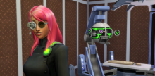 Sims can achieve the Scientist career and gain access to more advanced technology.