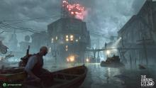 Explore the canals of this eldritch-infused cityscape.
