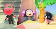 A few of the different sisterly villagers you can get.