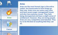 Download this mod to let your sims be assigned their zodiac sign!