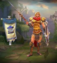 Achilles's in-game player model