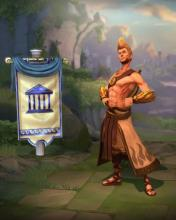 Apollo's in-game player model