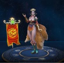 Da Ji's in-game player model