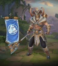 Heimdallr's in-game player model