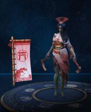 Izanami's in-game player model