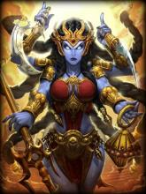 Kali is a Hindu Assassin and the fifth best god for Duel in SMITE