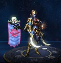 Kali's in-game player model
