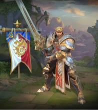 King Arthur's in-game player model