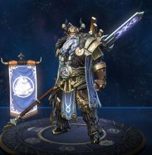 Odin's in-game player model