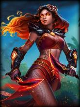 Pele is a Polynesian Assassin and ranks as the fifth best in SMITE