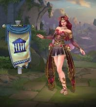 Persephone's in-game player model