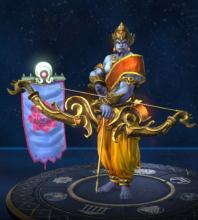 Rama's in-game player model