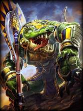 Sobek is an Egyptian Guardian and ranks as the fifth best Solo Laner in SMITE