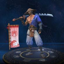 Susano's in-game player model