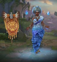 Yemoja's in-game player model