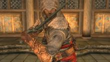 Make your character look fearless in Skyrim
