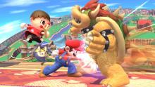 Super Smash Bros. Ultimate: Villager joins in Mario and Bowser's endless brawl