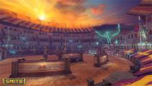 If you have some time left in-between dominating the battlefield and crushing gods, enjoy the arena sunset aesthetic.