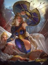 When in doubt, have faith that Athena will come to help you!