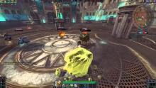 Geb shakes the ground as he rolls around knocking down enemies.