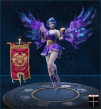 Discordia is a Roman Mage and ranks 3rd overall for mages in SMITE