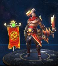 Hou Yi is a Chinese Hunter and ranks 2nd overall for Hunters in SMITE