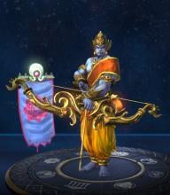 Rama is a Hindu Hunter and ranks 4th overall for Hunters in SMITE