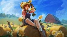 Farmer Persephone is the cutest skin in the game, flat-out.