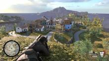 The first area in Sniper Elite 4's campaign.