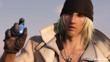 Snow in the first FFXIII game.