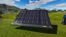 Decide if it's best to power your base by solar energy, fuel, or both!