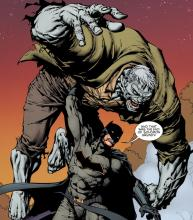Batman takes on similar foes to Michael Myers, such as Solomon Grundy, regularly.