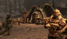 One of many new locations in the Dragonborn DLC.