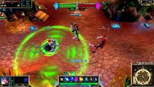 Sona's skill, Aria of Perseverance, displayed in-game.