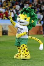 This tournament mascot was a memorable and lovable character.
