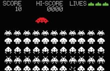 Space invaders is a historically significant game, and has a classic design.