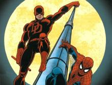 The Web-Slinger and The Man without Fear