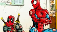 The Web Slinger and The Merc with the Mouth in trouble again