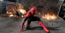 Tom Holland as Spider-Man from 'Spider-Man: Far From Home'