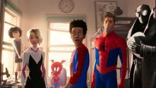A scene from Spider-Man: Into the Spider-Verse