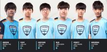 The 2018 London Spitfire Roster
