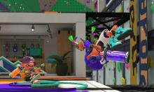 With the right abilities, certain moves can get you out of danger before being splatted.