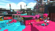 Splatoon 2 Blue vs Pink
